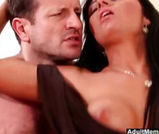 He Cums All Over Her And Keeps Fucking Hard