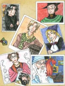 Profesores Harry Potter