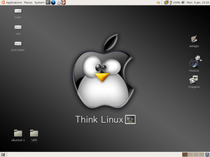 my first ubuntu desktop