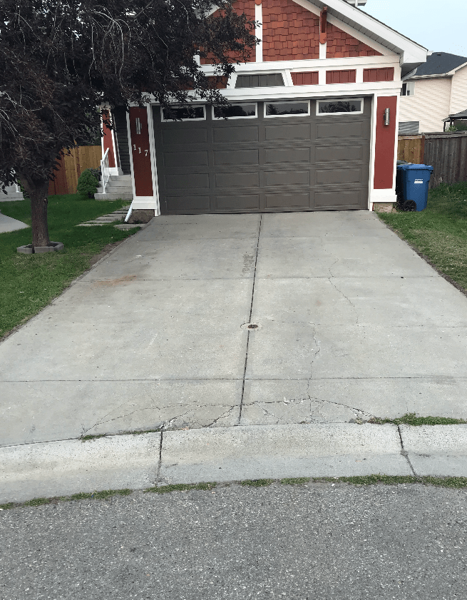 concrete driveway or patio need