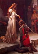 The Accolade, by Edmund Blair Leighton