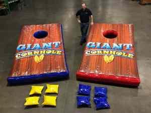Giant Cornhole game