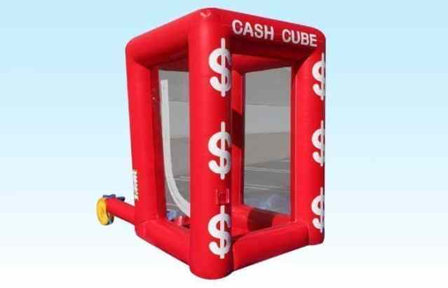 Inflatable Cash Cube