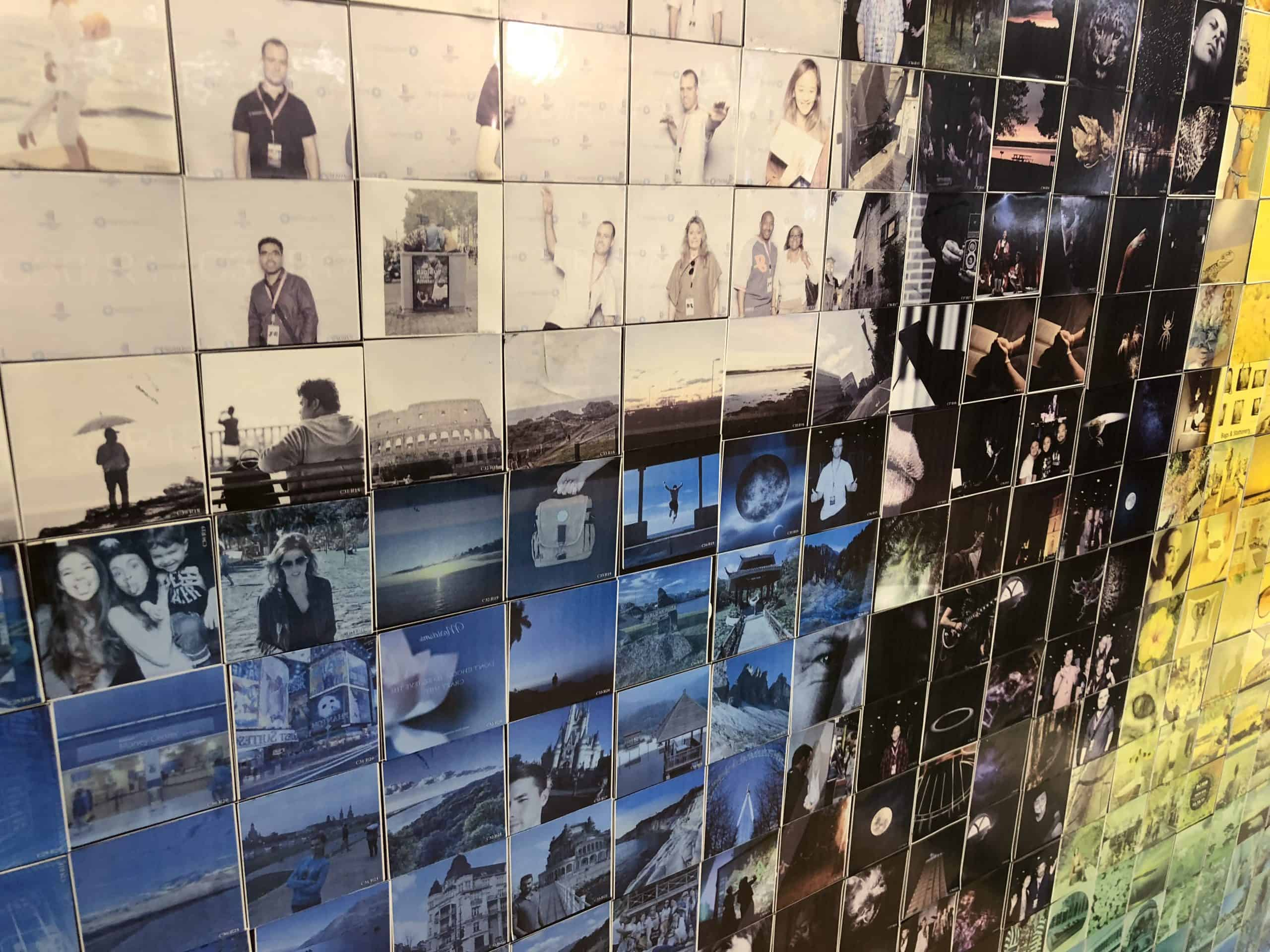 Photo Mosaic Wall Rentals