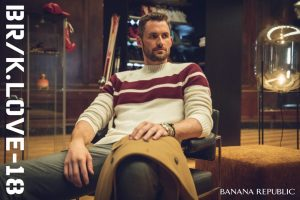 Introducing BR/K.LOVE-18 From Banana Republic And Pro Basketball Star Kevin Love