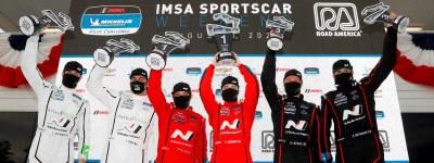 Hyundai podium