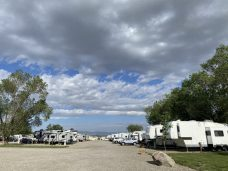 View of Crowded RV Park