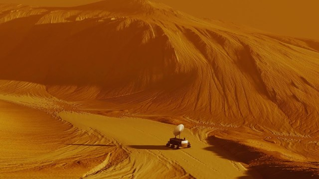 Martian Rock Sample