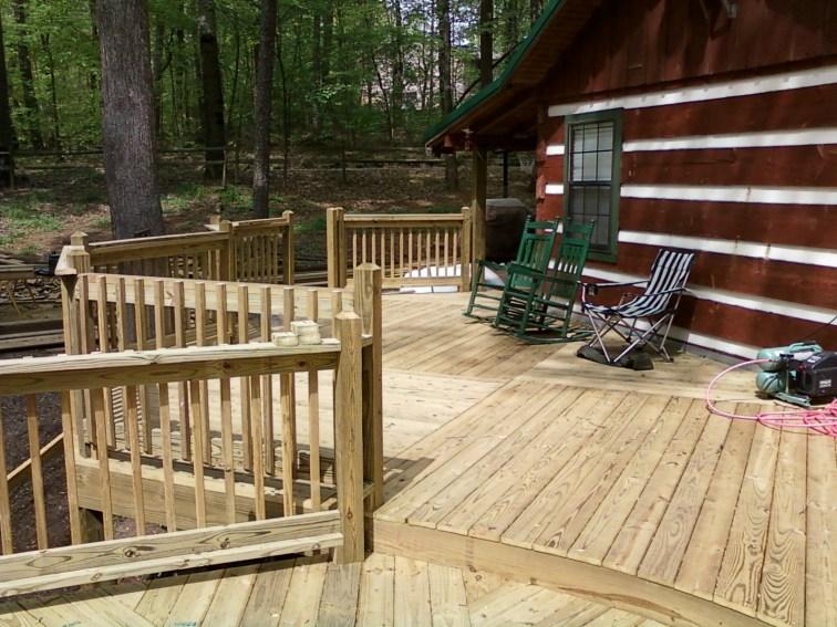 the main deck area