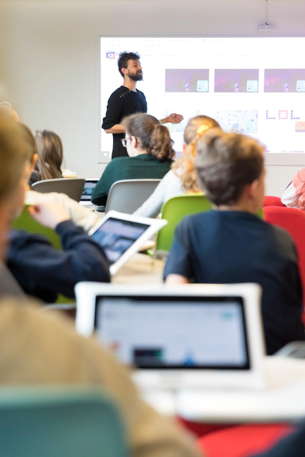 Accompagnement sur les logiciels enseignants