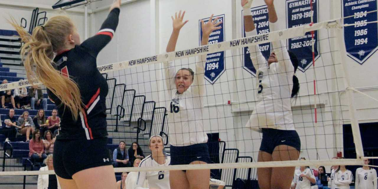 Volleyball gets swept, eliminated from America East Playoffs
