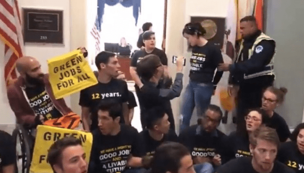 UNH Student Arrested in D.C. Climate Protest