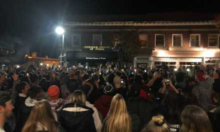 Wildcats Celebrate, March as Red Sox Win Fourth World Series Title