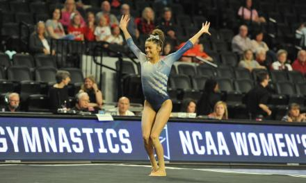 Gymnastics season ends at regionals