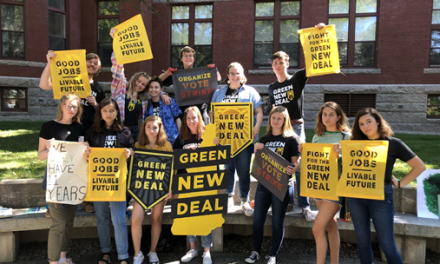UNH students and community members join climate movement