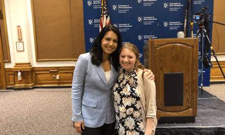 Gabbard aggressive, outspoken in NH campaign