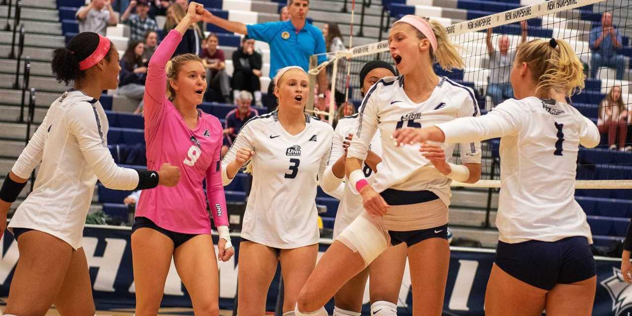 Volleyball sweeps Binghamton