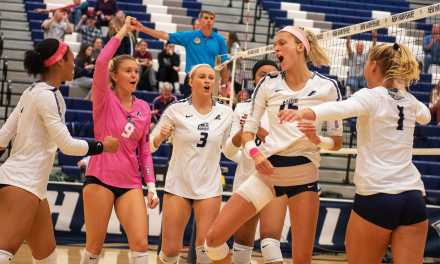 Volleyball sweeps Binghamton