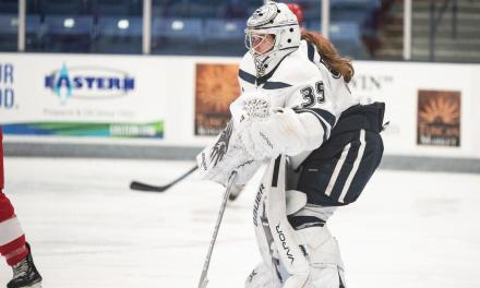 Women's hockey loses, ties
