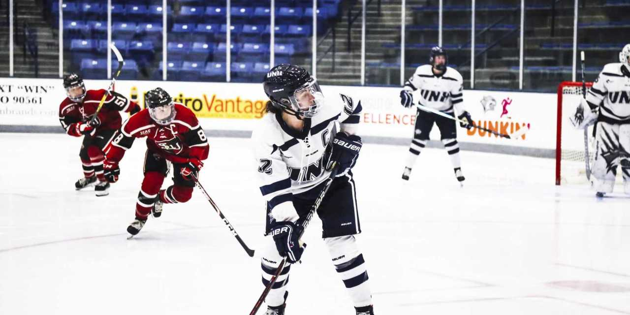 St. Lawrence bests UNH over weekend series