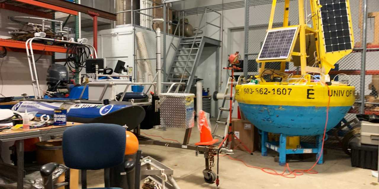 A tour of the Chase ocean Engineering Laboratory