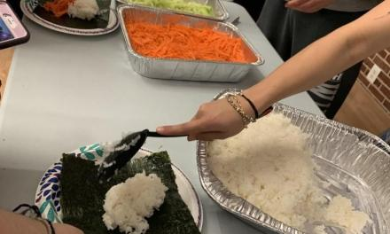 United Asian Coalition and Hillel host kosher sushi night