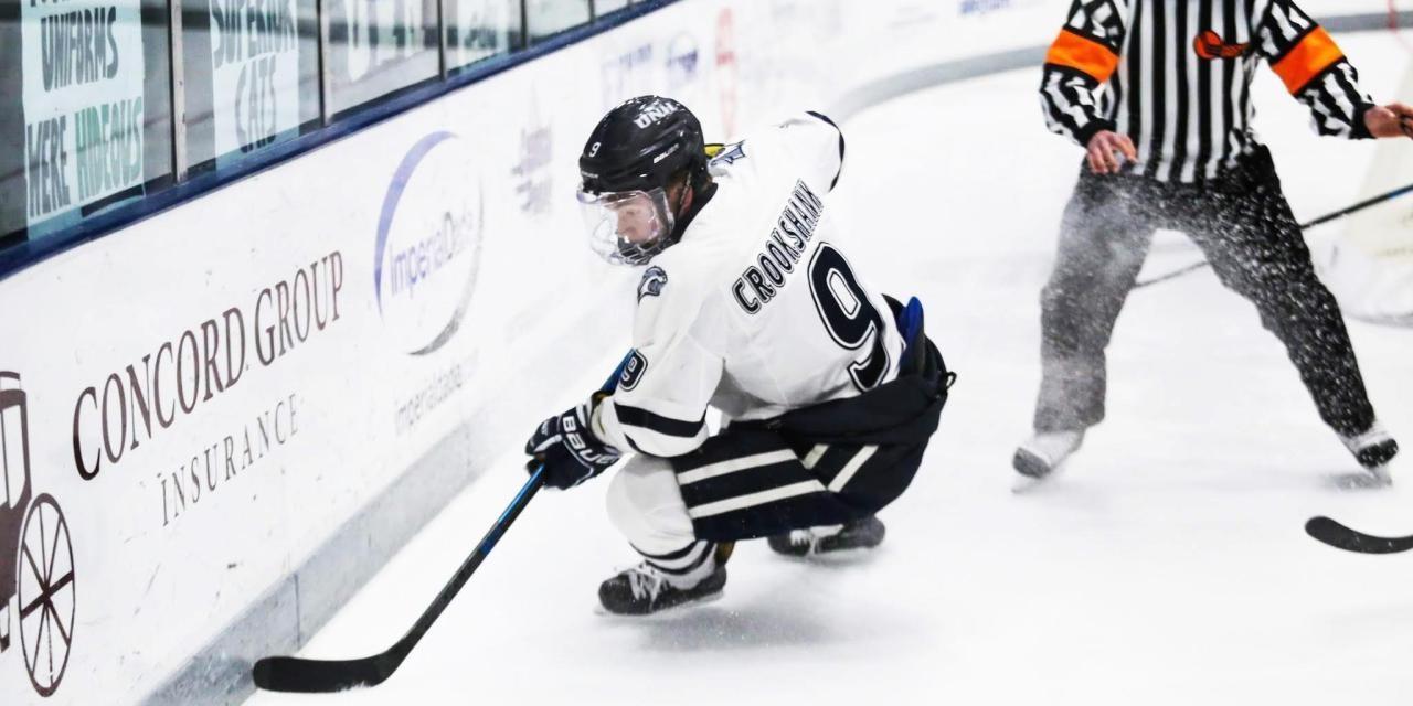 Weekend sweep sends UNH into fifth place in Hockey East