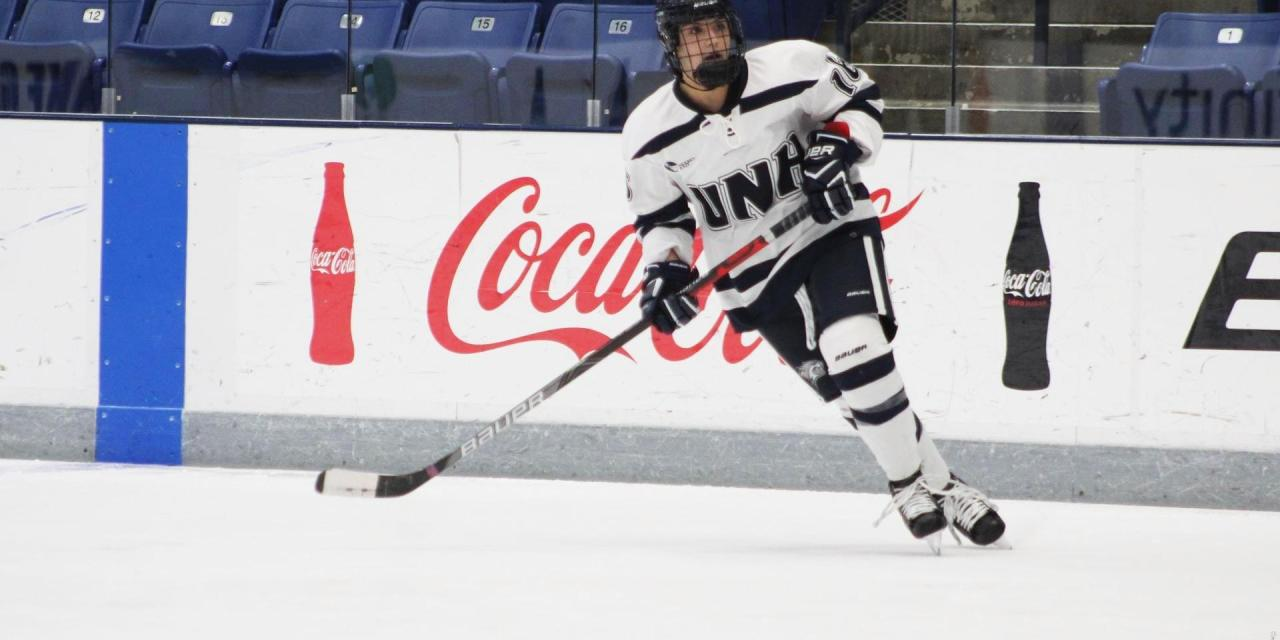 Young players fuel three-point weekend for UNH