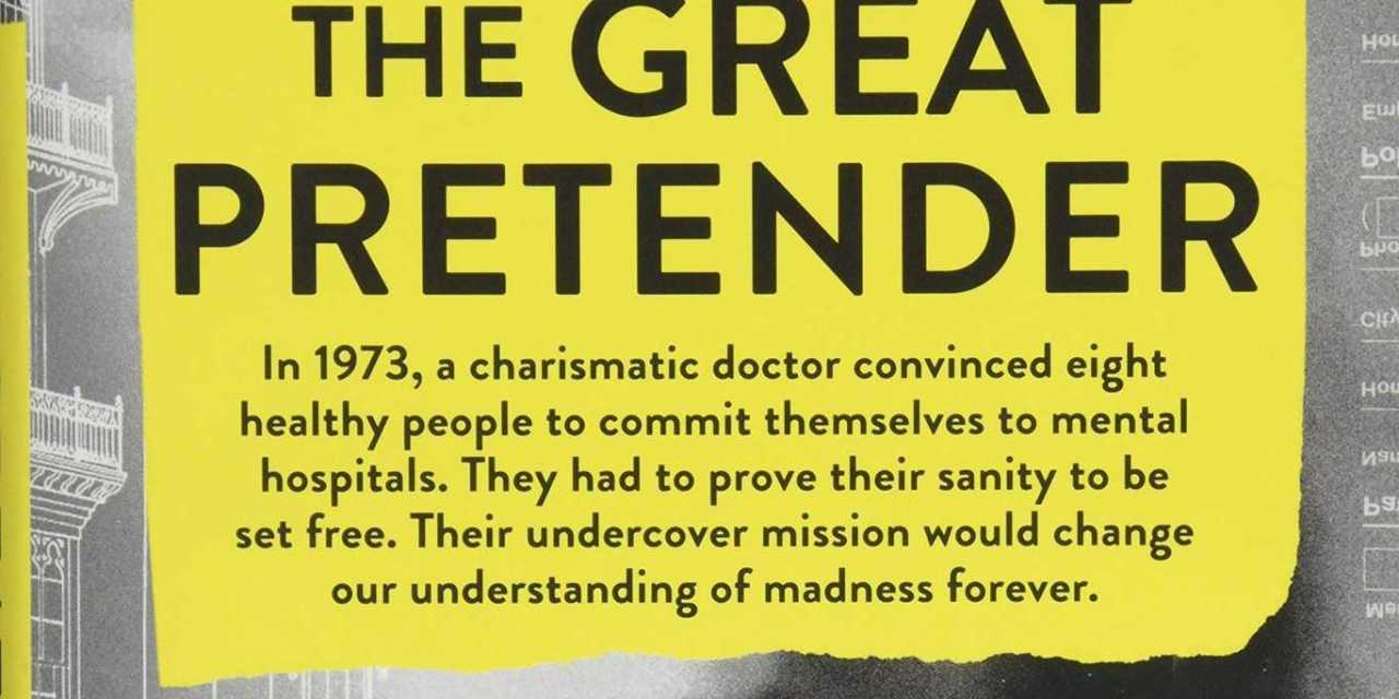 Mad about books: 'The Great Pretender' by Susannah Cahalan