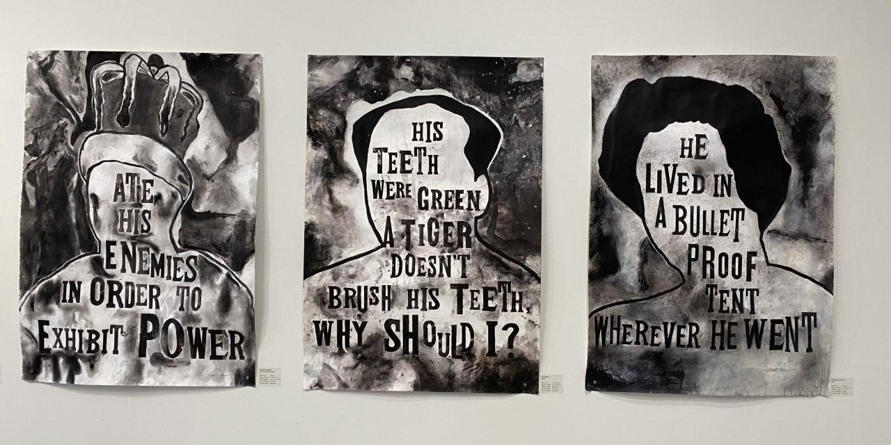 """3S Artspace Exhibit: """"Your Leader Could be a Tyrant, How to Tell"""""""