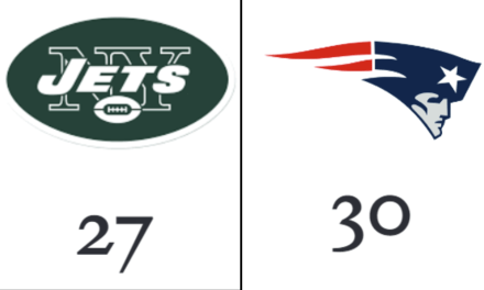 Patriots squeak by the Jets in divisional matchup