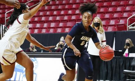 UNH loses big in first game under Kelsey Hogan