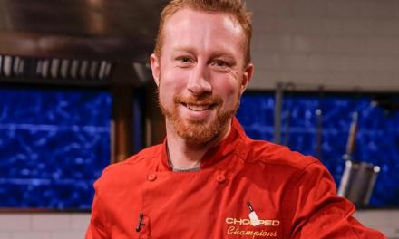 "Chef Evan Hennessey wows with virtual ""Chopped"" challenge"