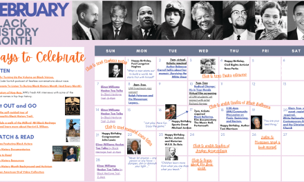 UNH resources to help you celebrate Black History Month