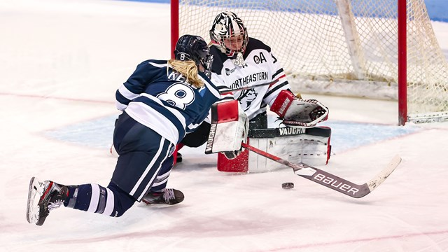 Wildcats' season ends at the hands of Northeastern