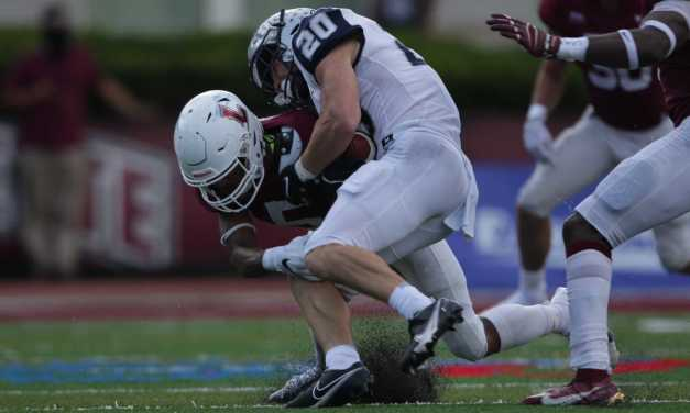 UNH football: Laube and Espanet hold off Lafayette after three misses from Conn