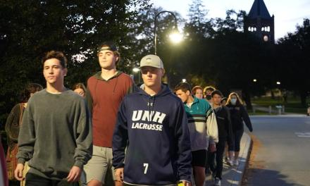UNH students protest following sexual assault allegations