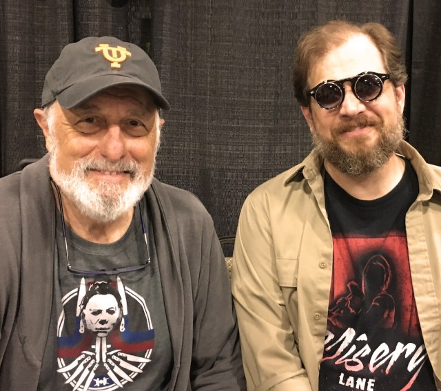 Isaac Thorne Meets Nick Castle at Fanboy Expo 2019