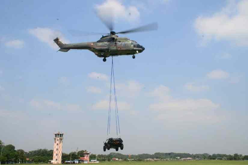 Skadron Udara 6 Lanud Atang Sendjaja Latihan Combat CSAR