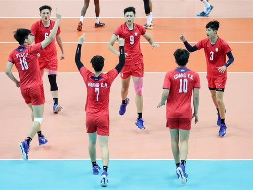 Taiwan takes first Asian Men's U23 Volleyball Championship title 2