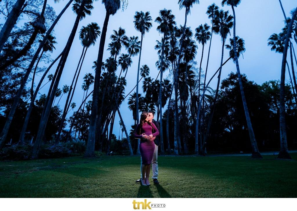 Los Angeles Arboretum Maternity Photos