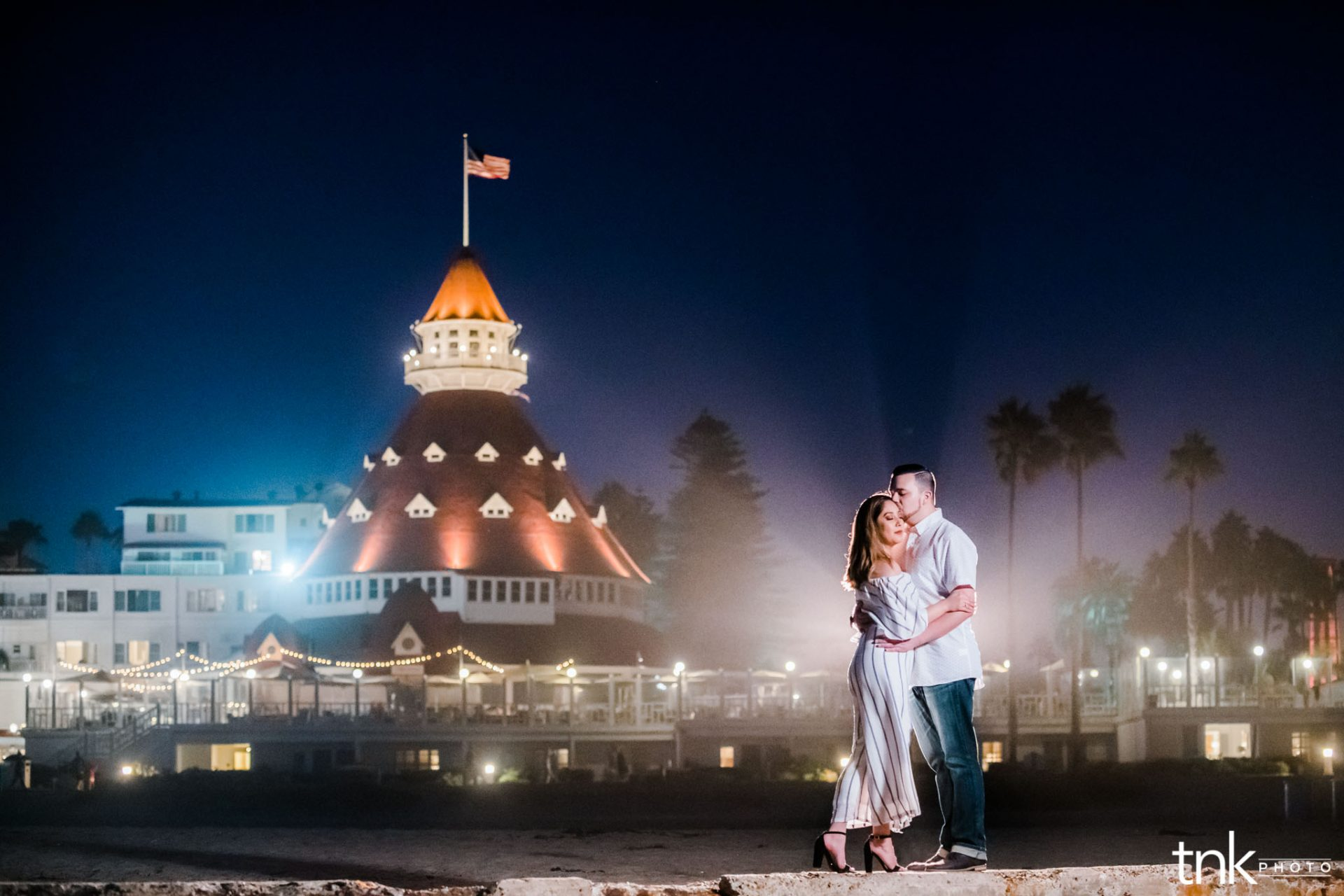Hotel Del Coronado Engagement Photos | Bree and Chris