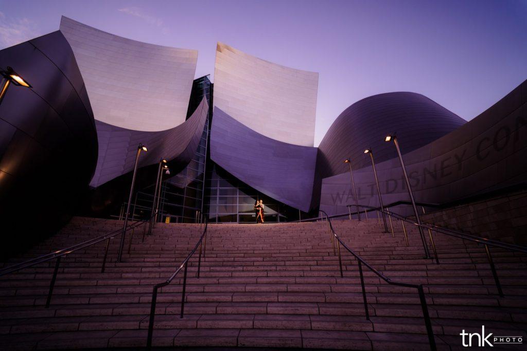 Walt Disney Concert Hall Engagement Photos