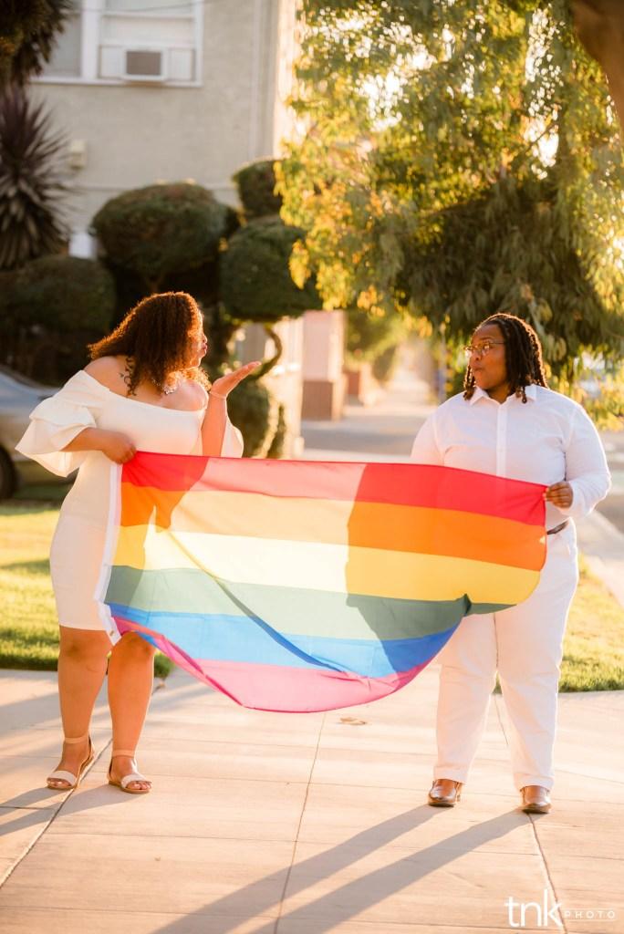 Long Beach LGBT Engagement Session Marissa and Jasmyn