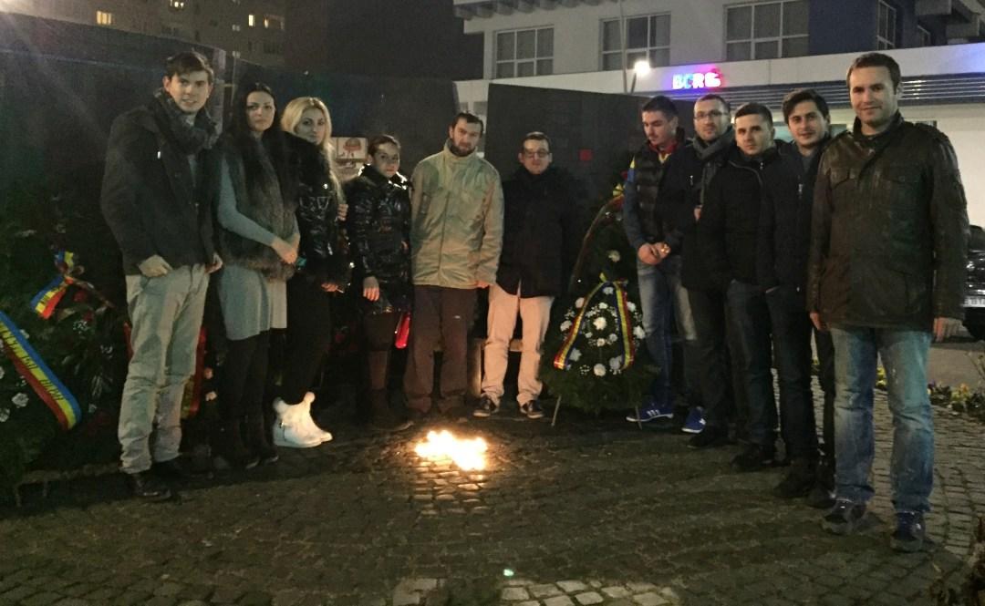 TNL Alba Iulia a comemorat eroii martiri din 1989
