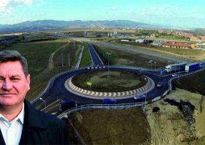 Orașul Cugir va avea nod rutier la autostradă