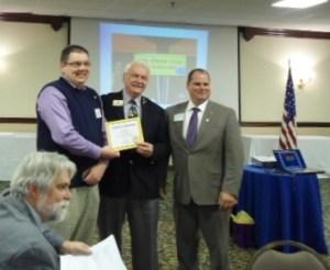 Farragut Lions Club New Member John Malone