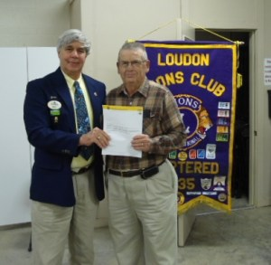 Loudon Lion Jim Pope 55 Years