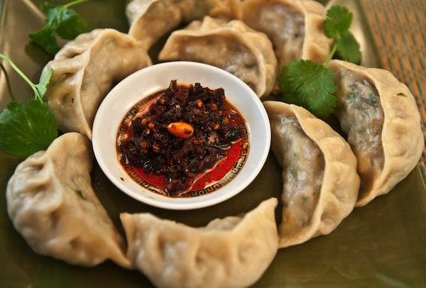 Tibetan momos or dumplings