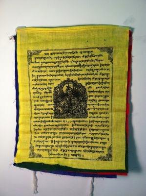 Guru Rinpoche prayer flags